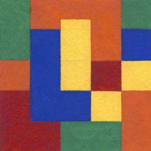 Kunstunterricht Farbenlehre - Farbe an sich Kontrast