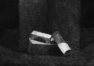 Kunstunterricht - Stilleben zum Thema Tonwerte