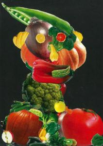Kunstunterricht - Schülerarbeit Collage