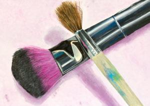 Kunstunterricht - Schülerarbeit Malen