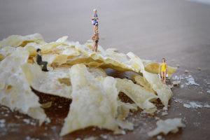 Kunstunterricht Gymnasium Schülerarbeit Big Food