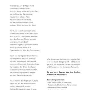 Hausaufgabe «Der Gnom»